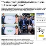 Twitterlistor hetsar politiker att twittra