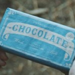 Chokladreklam i skyttegrav