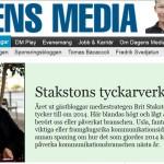 Brit Stakston tycker till hos Dagens Media