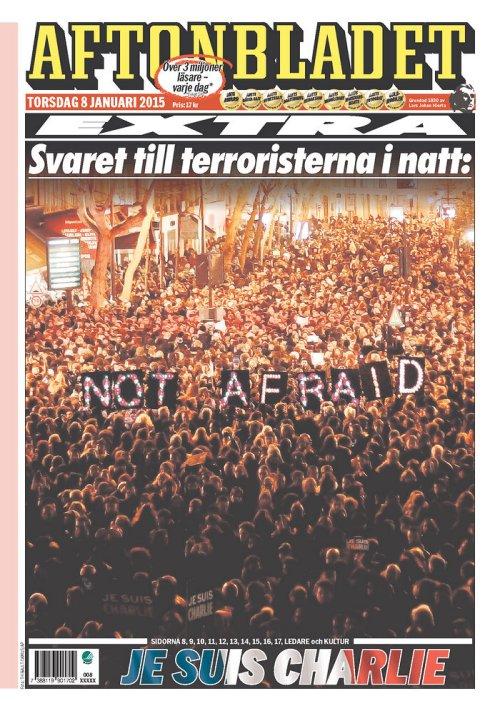 aftonbladet not afraid
