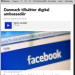 Digital ambassadör i Danmark för it-jättarna
