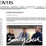 Sanity Check no 19: Samtal bl.a. om förlorare som glorifierar terrorism