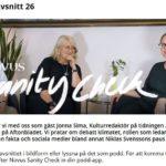 Sanity Check #26 med Jonna Sima