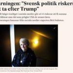 Trump som förebild för politiker på nätet