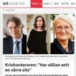 Kriskommunikation och Svenska Akademien
