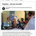 Populism av Löfven att kokettera med Almedalsfrånvaro