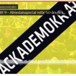 Almedalen 50 år – smyglansering av antologi hos #backademokratin
