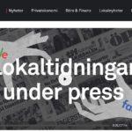 Lokaltidningar under press